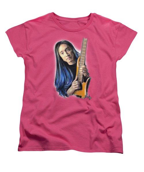 John Myung Women's T-Shirt (Standard Cut) by Melanie D