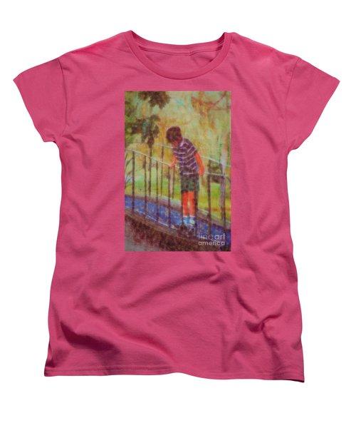 John's Reflection Women's T-Shirt (Standard Cut) by Donna Bentley