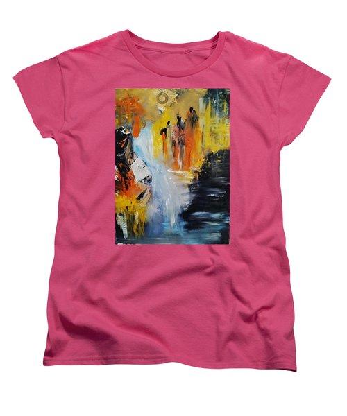 Jordan River Women's T-Shirt (Standard Cut) by Kelly Turner