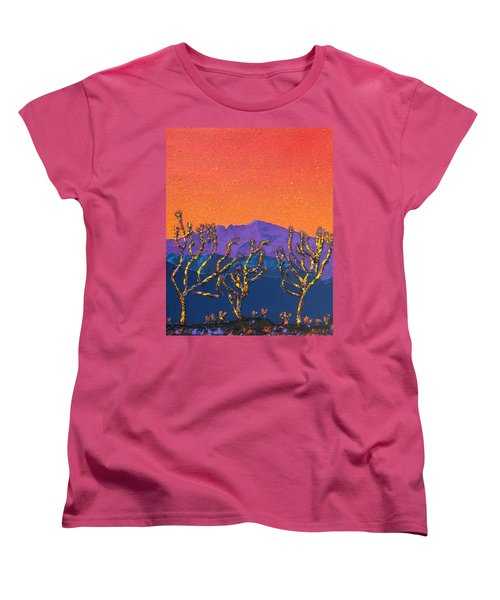 Joshua Trees Women's T-Shirt (Standard Cut)
