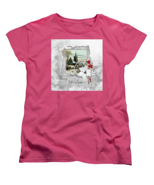 Joy To The World Women's T-Shirt (Standard Cut) by Mo T