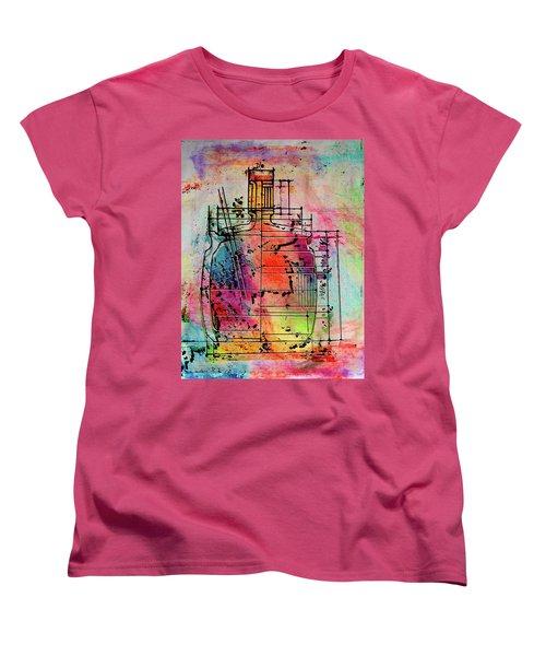Jug Drawing Women's T-Shirt (Standard Cut) by Don Gradner