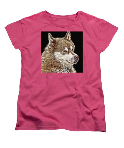 Women's T-Shirt (Standard Cut) featuring the photograph Juneau by Rhonda McDougall
