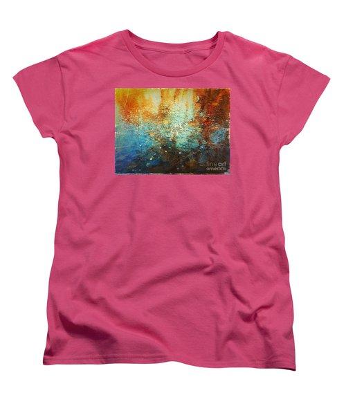 Just A Happy Day Women's T-Shirt (Standard Cut) by Delona Seserman