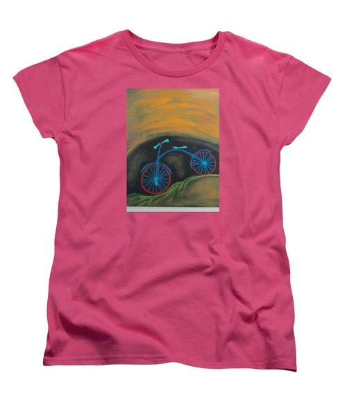 Just Roamin Women's T-Shirt (Standard Cut) by Sharyn Winters