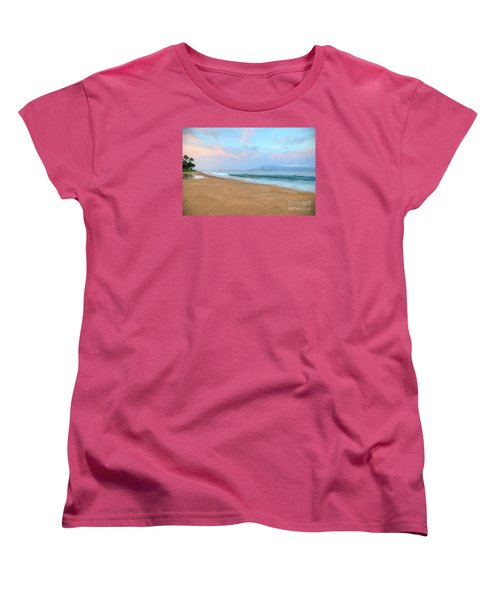 Women's T-Shirt (Standard Cut) featuring the photograph Ka'anapali Delight  by Kelly Wade