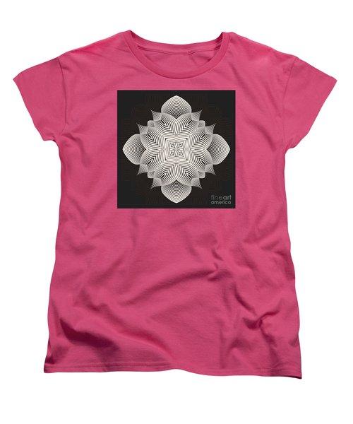 Women's T-Shirt (Standard Cut) featuring the digital art Kal - 71c89 by Variance Collections