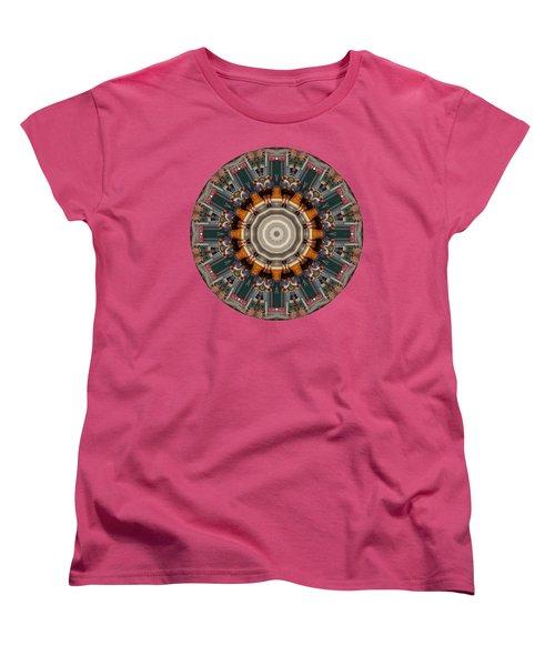 Women's T-Shirt (Standard Cut) featuring the photograph Kaleidos - Ptown04 by Jack Torcello