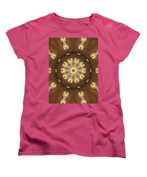 Kaleidoscope 125 Women's T-Shirt (Standard Cut) by Ron Bissett