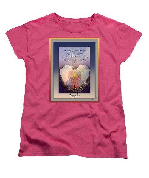 Kaypacha Mantra 3.3.2015 Women's T-Shirt (Standard Cut) by Richard Laeton