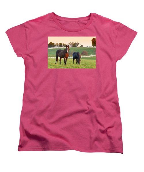 Kentucky Pride Women's T-Shirt (Standard Cut) by Alexey Stiop