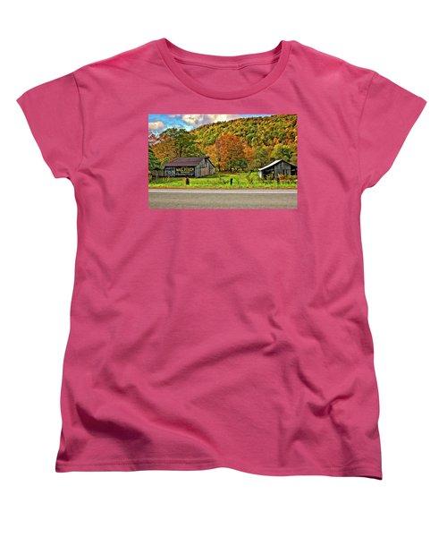 Kindred Barns Women's T-Shirt (Standard Cut) by Steve Harrington