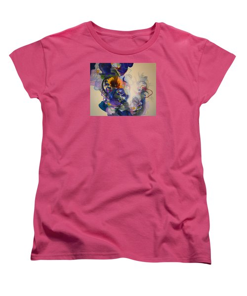 Women's T-Shirt (Standard Cut) featuring the painting Kitsch Dna by Georg Douglas