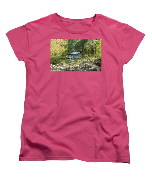Klepzig Mill Women's T-Shirt (Standard Cut) by Julie Clements