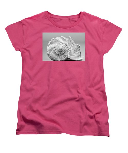Women's T-Shirt (Standard Cut) featuring the photograph Knobbed Whelk by Benanne Stiens