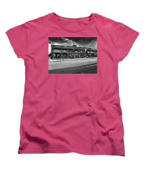 Knuckle Saloon Sturgis Women's T-Shirt (Standard Cut) by Richard Wiggins