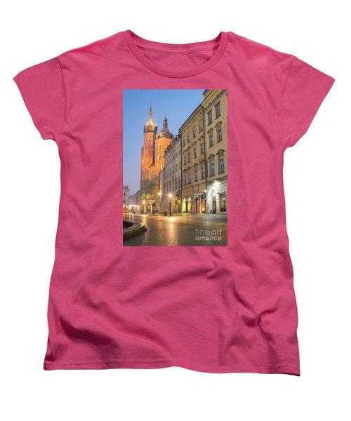 Women's T-Shirt (Standard Cut) featuring the photograph Krakow by Juli Scalzi