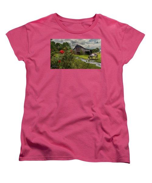 La Buena Vida Women's T-Shirt (Standard Cut) by Don Olea
