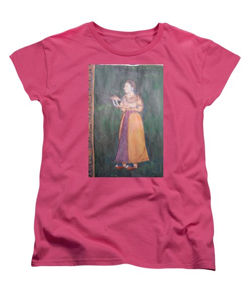 Lady Of The Court Women's T-Shirt (Standard Cut) by Vikram Singh
