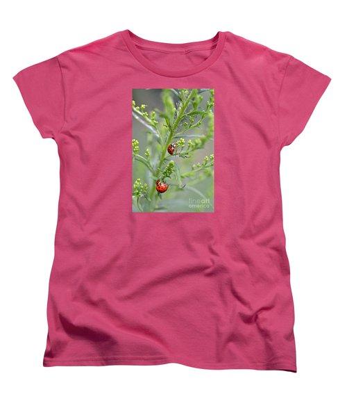Ladybug Ladybug... Women's T-Shirt (Standard Cut) by Lila Fisher-Wenzel