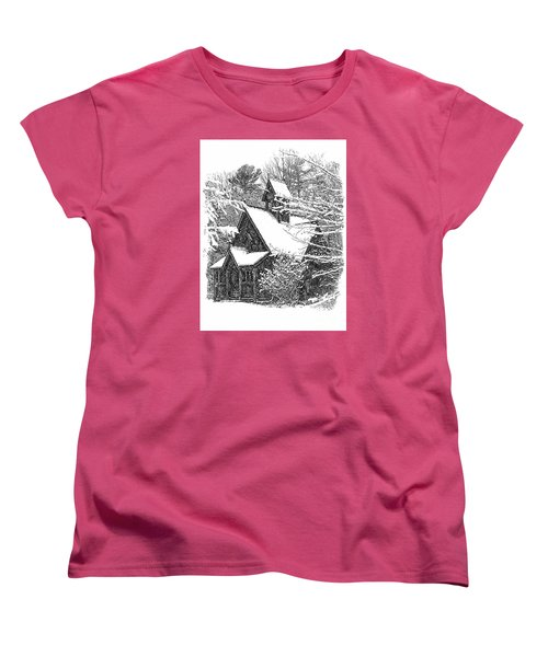 Lake Effect Snow Women's T-Shirt (Standard Cut) by Jim Rossol