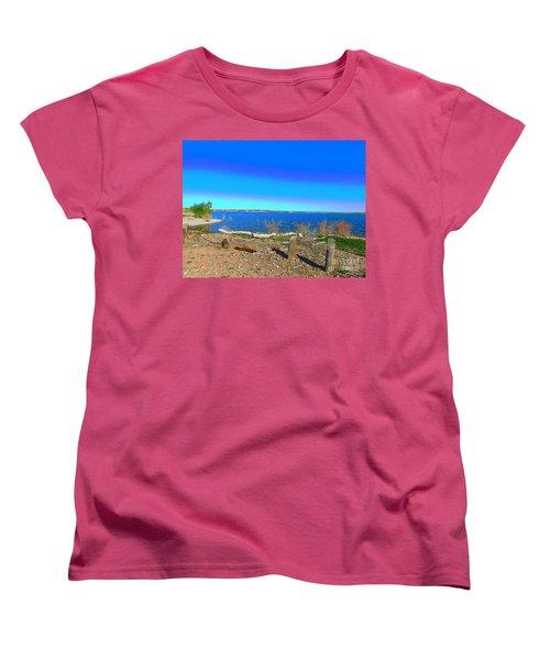Lake Pueblo Painted Women's T-Shirt (Standard Cut)