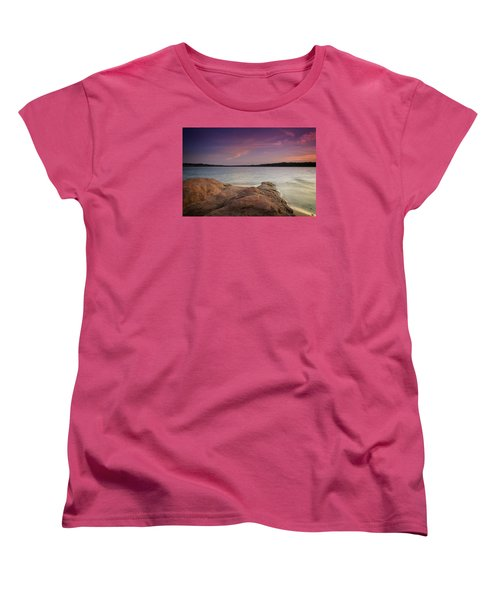 Lake Sunset II Women's T-Shirt (Standard Cut)