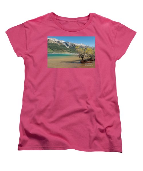 Lake Wakatipu Women's T-Shirt (Standard Cut) by Werner Padarin
