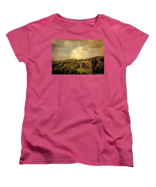 Women's T-Shirt (Standard Cut) featuring the photograph Lancing College by Chris Lord