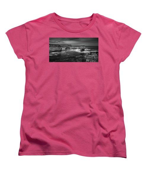 Land And Sea Women's T-Shirt (Standard Cut) by Mark Lucey