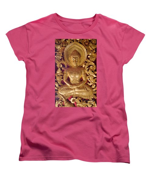 Laos_d264 Women's T-Shirt (Standard Cut) by Craig Lovell