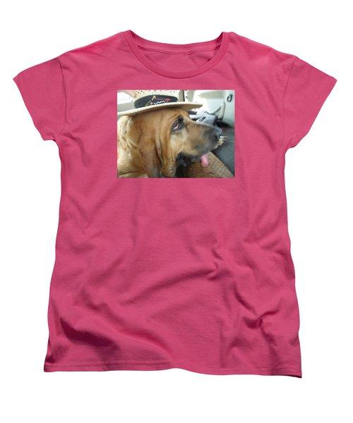 Last Car Ride Women's T-Shirt (Standard Cut) by Val Oconnor