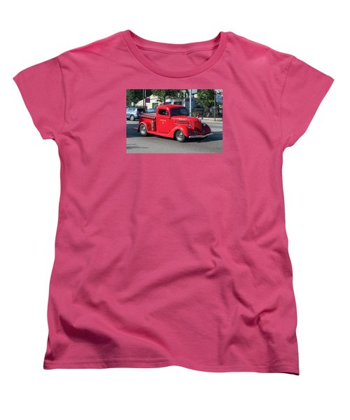 Last Chance Hose Company Women's T-Shirt (Standard Cut) by Suzanne Gaff