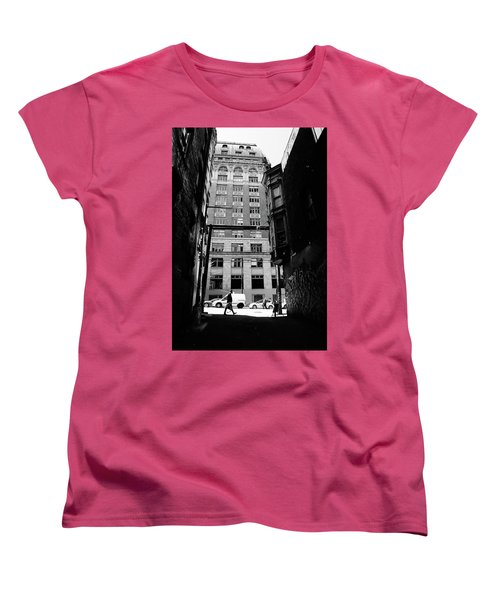 Women's T-Shirt (Standard Cut) featuring the photograph Last Jacket  by Empty Wall