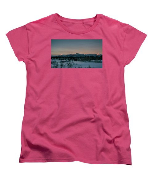 Last Light On Pagosa Peak Women's T-Shirt (Standard Cut) by Jason Coward