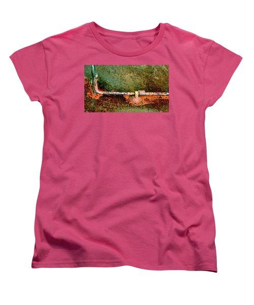 Latch 5 Women's T-Shirt (Standard Cut) by Jerry Sodorff