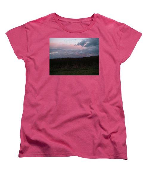 Women's T-Shirt (Standard Cut) featuring the photograph Late Light by Laurie Stewart