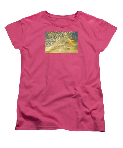 Layers Of Sky Women's T-Shirt (Standard Cut) by Wanda Krack