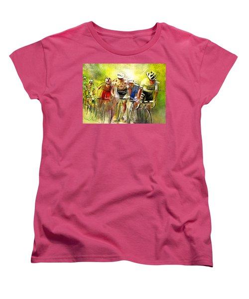 Le Tour De France 07 Women's T-Shirt (Standard Cut) by Miki De Goodaboom