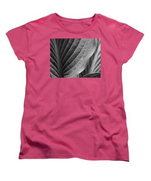 Leaf - So Many Ways Women's T-Shirt (Standard Cut) by Ben and Raisa Gertsberg