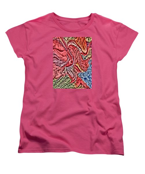 Leaves And Grapes Women's T-Shirt (Standard Cut) by Vickie G Buccini