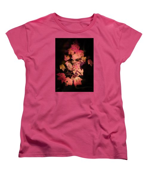 Leaves Of Surrender Women's T-Shirt (Standard Cut) by Karen Wiles