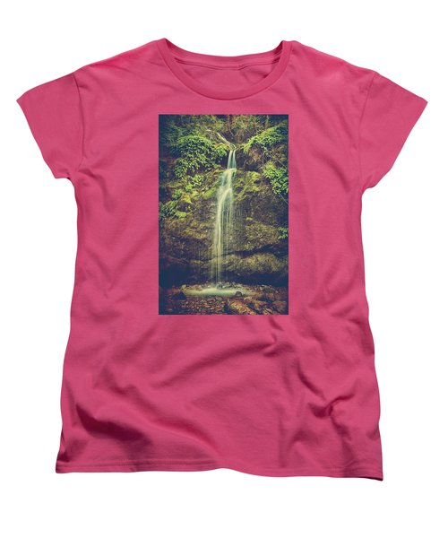 Women's T-Shirt (Standard Cut) featuring the photograph Let Me Live Again by Laurie Search
