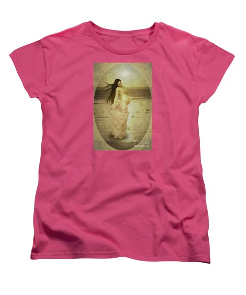 Let Your Soul And Spirit Fly Women's T-Shirt (Standard Cut) by Linda Lees