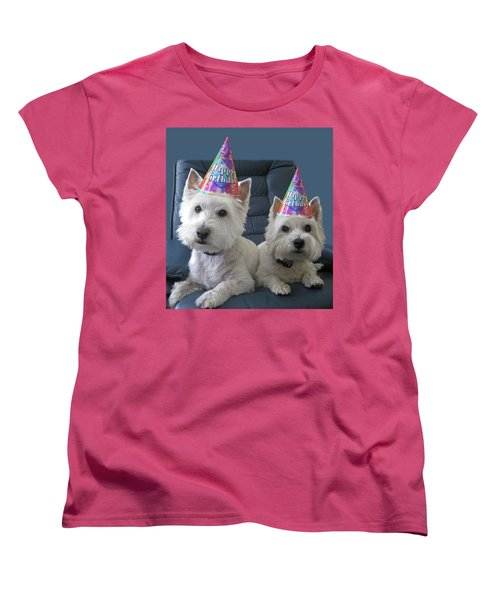 Women's T-Shirt (Standard Cut) featuring the photograph Let's Party by Geraldine Alexander
