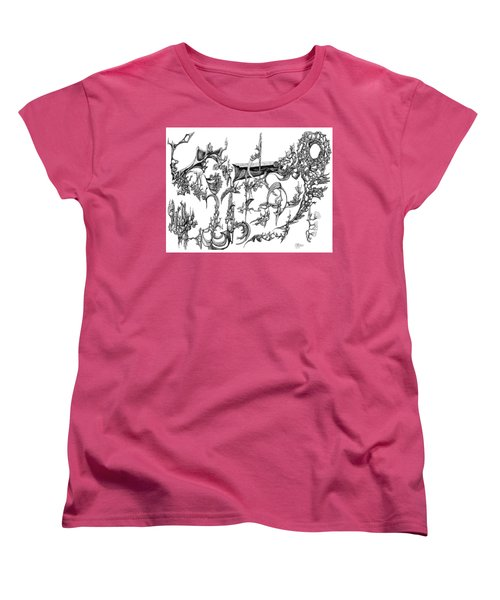 Levitation Women's T-Shirt (Standard Cut) by Charles Cater