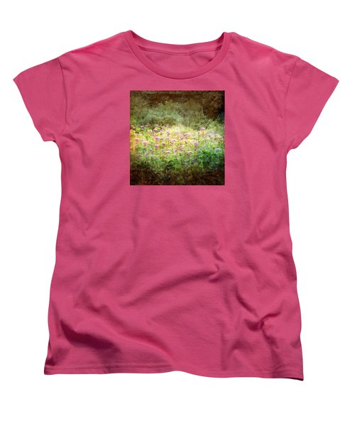Light In The Forest Women's T-Shirt (Standard Cut) by Robin Regan