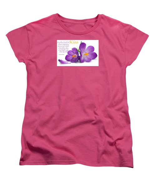 Light My Lips Women's T-Shirt (Standard Cut) by David Norman