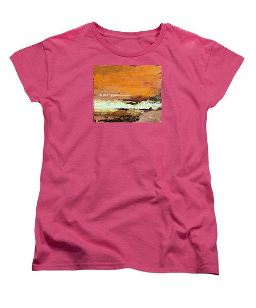 Light On The Horizon Women's T-Shirt (Standard Cut) by Nathan Rhoads
