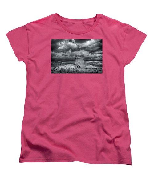 Light On The Rock Women's T-Shirt (Standard Cut)